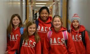 BACS sweatshirts