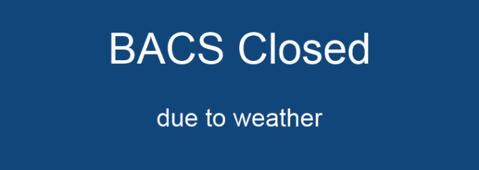 BACS Closed