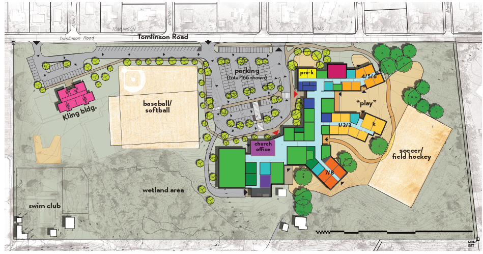 Proposed Campus Layout